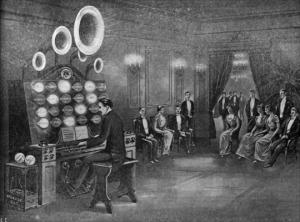 Audion klavír 1915
