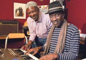 Toure Kunda in studio