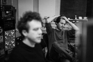 Zach Gordon in studio