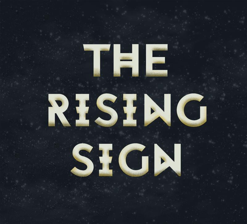 The Rising Sign Logo