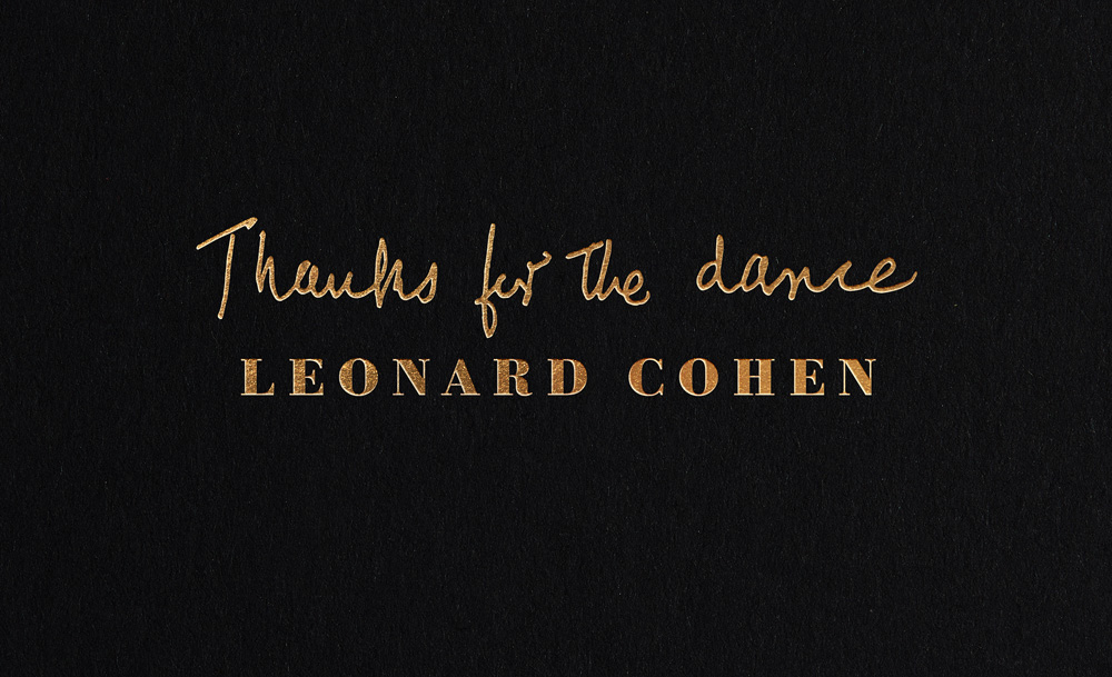 Cohen-Thanks For Dance