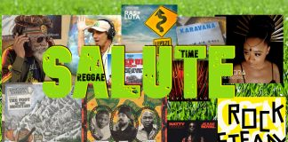 Salute Reggae Time - April 2020