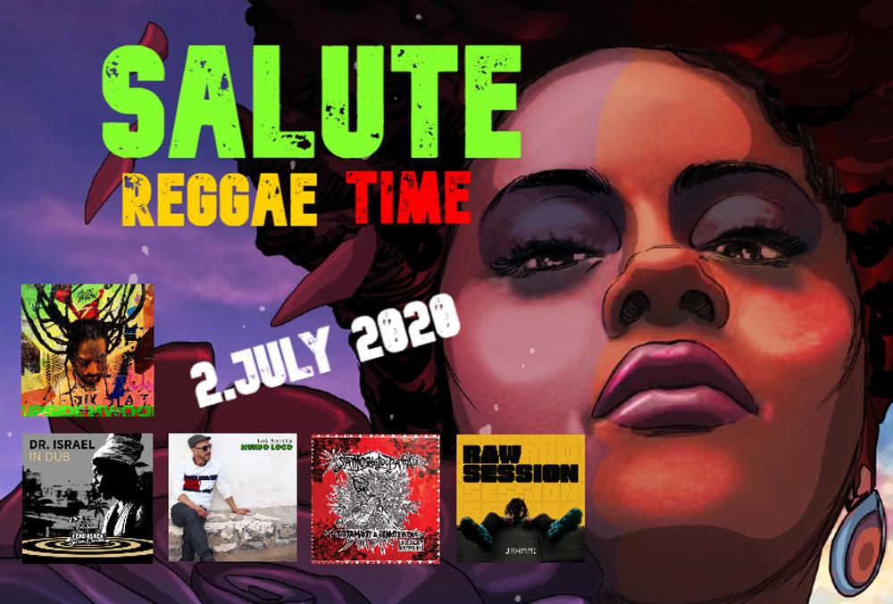 Salute Reggae Time - Júl